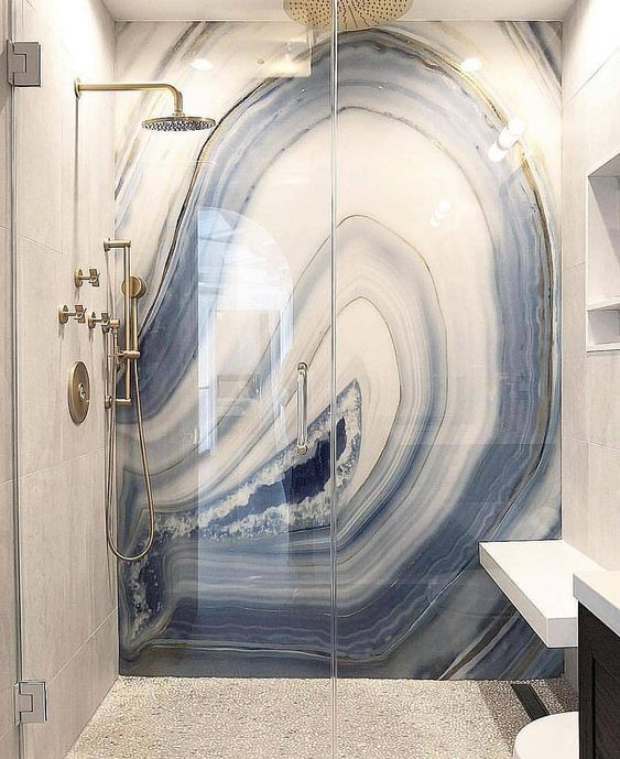 super 12 Super Marmor in Dusche Design-Ideen Decoholic
