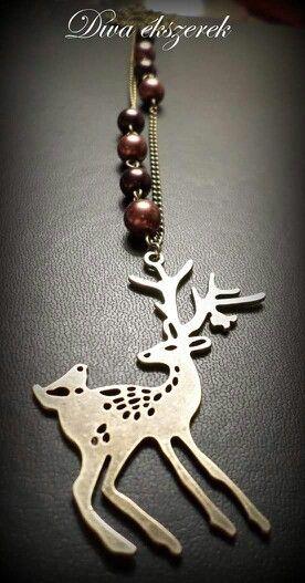 #necklace #handmade #winter #brown #jewelry #handmadejewelry  More: facebook.com/divaekszerek