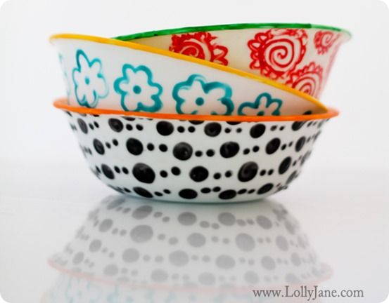 378 best diy for Bowl painting ideas