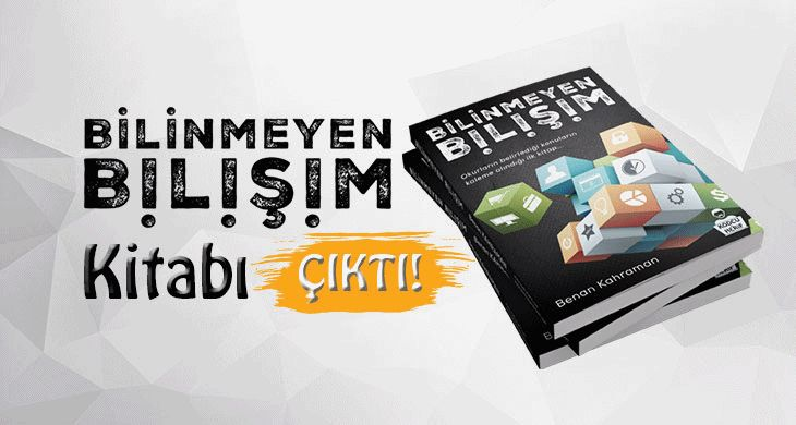 Bilişim, Kişisel Gelişim ve Girişimcilik Kitabı Bilinmeyen Bilişim Çıktı. Sipariş vermek ve ayrıntılı bilgi için tıklayın; http://www.kodcuherif.com/kitap-siparis