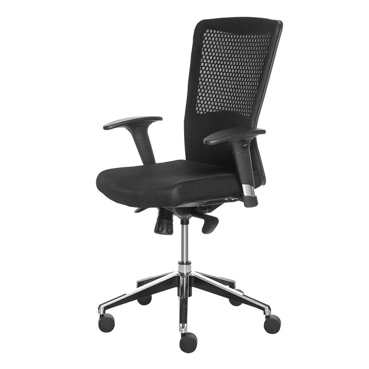 Mobexpert scaun operational negru Trend