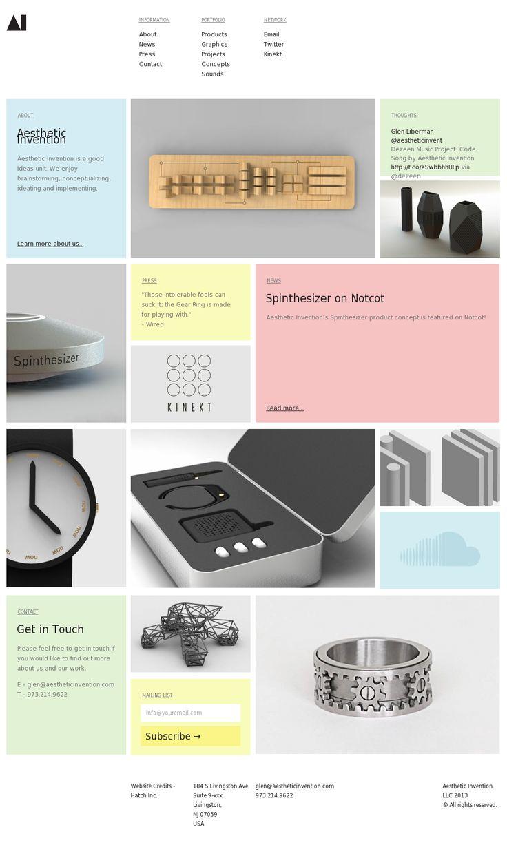 Aesthetic intervention website aestheticinvention.com