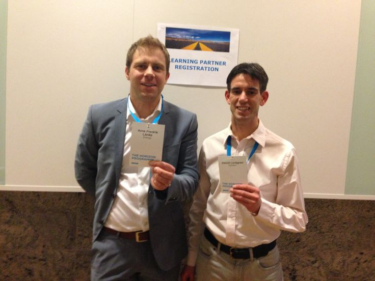 Learning partners: Arne & David