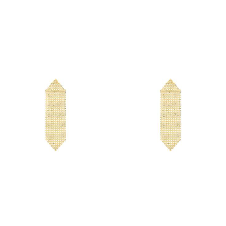"""""""Gold Mesh"""" Earrings"""