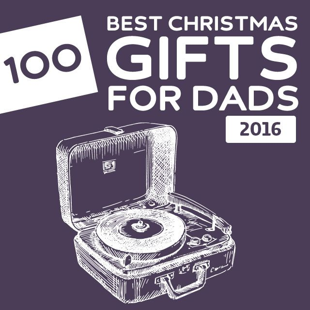 100 Best Christmas Gifts for Dads of 2016- these are some cool gift ideas!