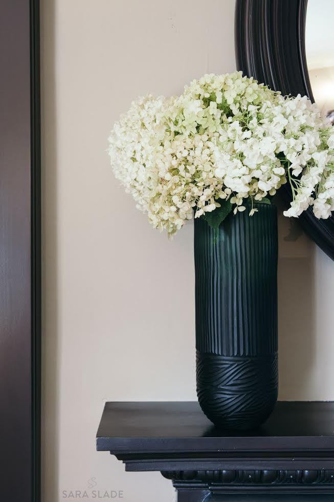 Mantel Details by Sara Slade Interiors
