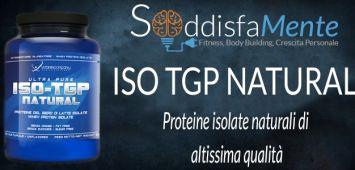 ISO TGP Natural: le miglior proteine Isolate prodotte da VitaminCompany