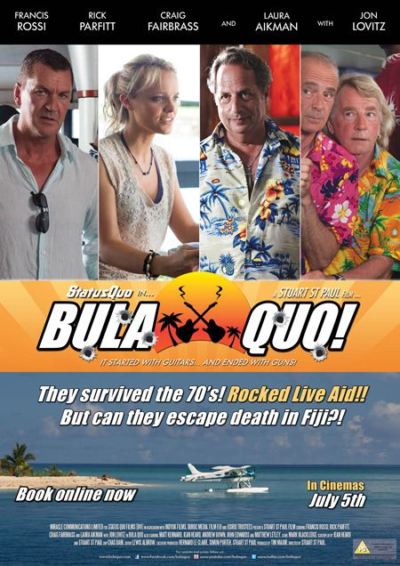 Bula Quo! – Trailer and Stills for the new Status Quo Movie - Got my tickets booked for tuesday, yay!