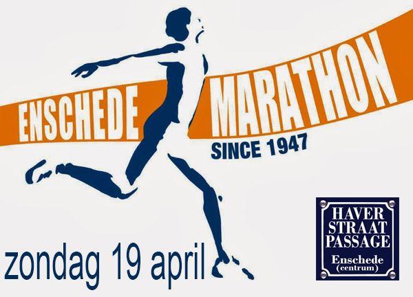 Zondag 19 april 2015 #Marathon #Enschede