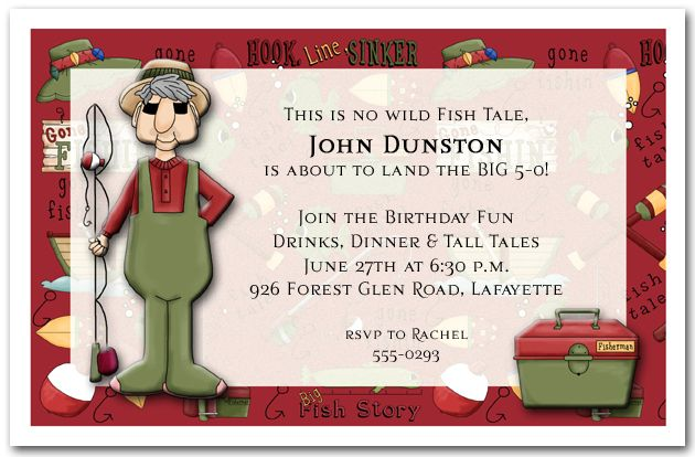 70th birthday fishing quotes quotesgram for Fishing birthday invitations