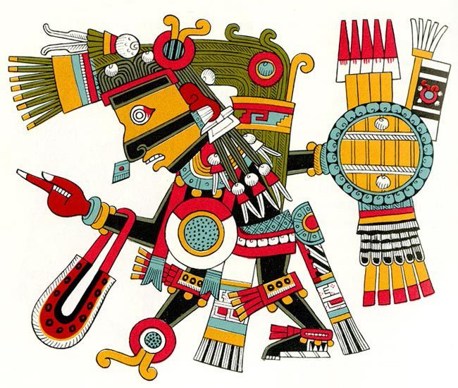 The top ten of the 200 Aztec gods and goddesses recognized by scholars include the most famous and important figures of the Aztec religion.