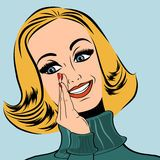 Pop Art Retro Woman In Comics Style - Download From Over 48 Million High Quality Stock Photos, Images, Vectors. Sign up for FREE today. Image: 39612953
