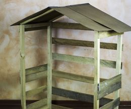How to Build an Outdoor Nativity Stable