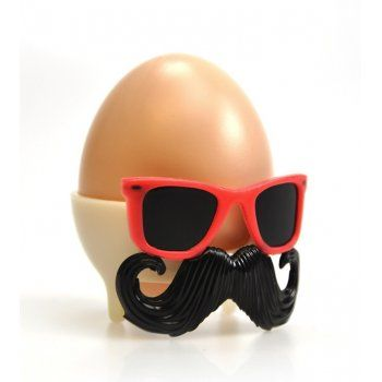 139 best chocolate is so last year easter gifts with a difference mustard bad egg moustache egg cup mustard from mollie fred uk negle Gallery