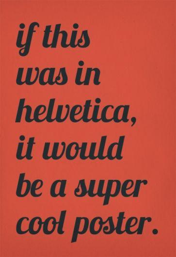 Designspiration — Oli Phillips, Typographic Poster Designed by RubySoho