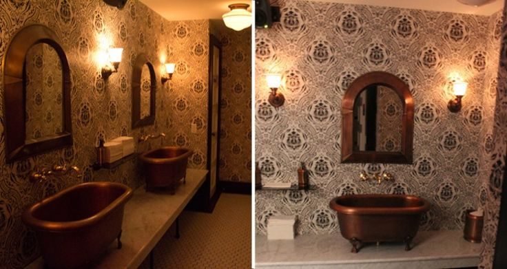 awesome+bathtubs | 15 Awesome Restaurant Bathrooms Around the Country | FirstWeFeast.com