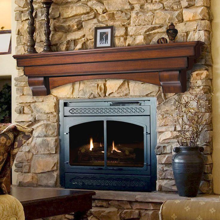 Salem Wood Mantel Shelves Fireplace Mantel Shelf Fireplaces Pinterest Wood Mantel