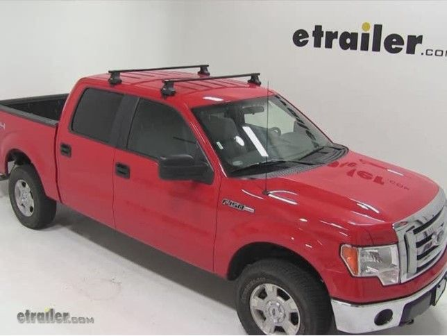 Thule Roof Rack for 2012 F 150 by Ford   etrailer.com
