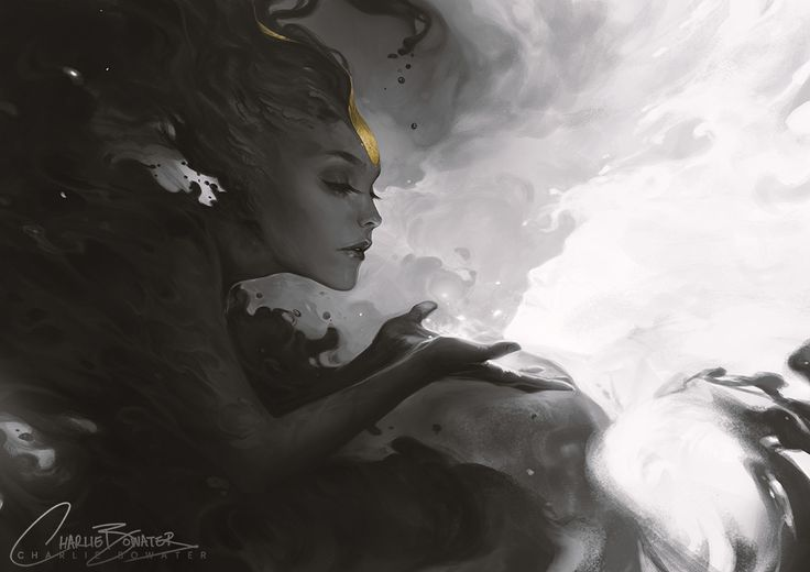 """charliebowater: """" A little something I've been working on in my spare time, much fun! Very much a sister to Fools Gold and very inspired by Yoann-Lossel. Photoshop CS6 & Wacom Intuos 5. Limited..."""
