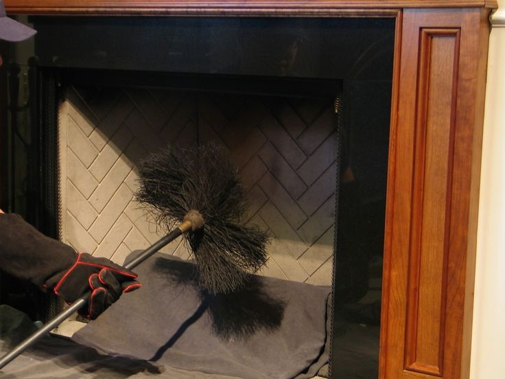 Fireplace Inside Cleaning
