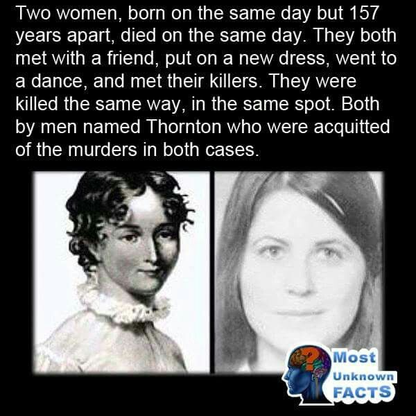 I'm a bit fascinated, honestly. If this is true, I'd sure like more and better details. If u know of any, plz comment them & ur own opinion as well. I feel like this story could be a case study &/or the basis for profound thinking: reincarnation, why we're here, defining the soul and so much more! Am I reaching? Maybe. But I don't think so. ☺️