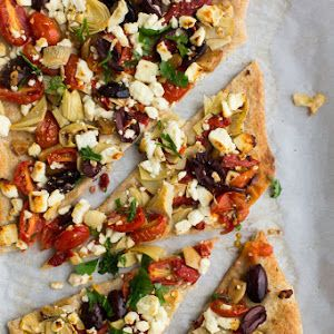 Mediterranean Flatbread Recipe   Yummly