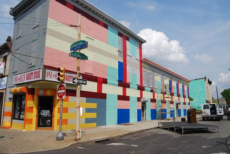 Urban Bright | Philly Gets a Paint Job - NYTimes.com: Lemlem Colors, Dre Urhahn, Paintings Job, Magazines Design, Jeroen Koolhaas, Murals Art, Philly Paintings, Germantown Avenu, Art Projects