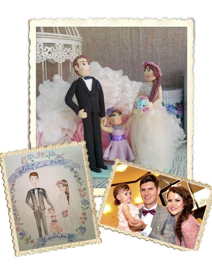 Sa modelam: Figurina pentru tort handmade, personalizata, cu copil