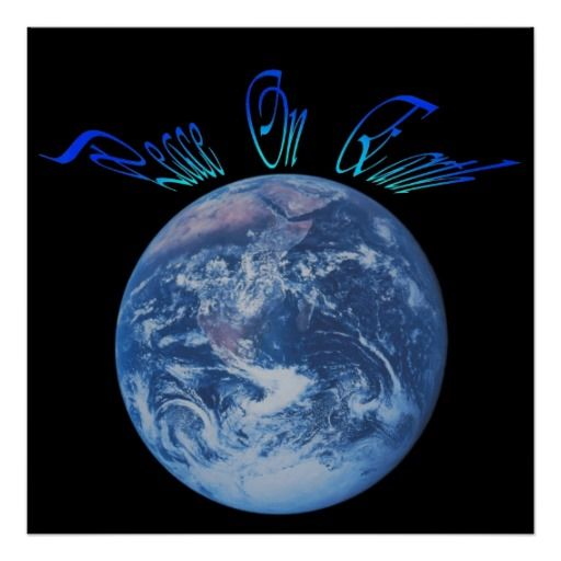 God's Peace On Earth poster
