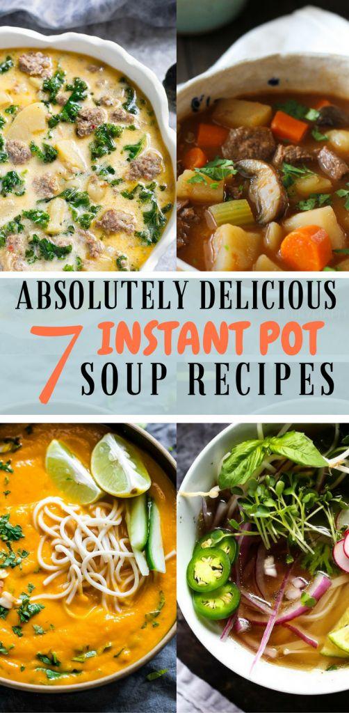 best instant pot soup recipes #instantpot #instantpotrecipes #soup #instantpotsoup