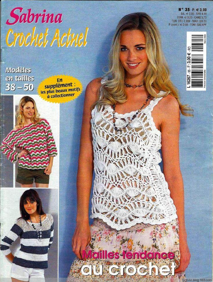 Sabrina Crochet Actuel №35 2009