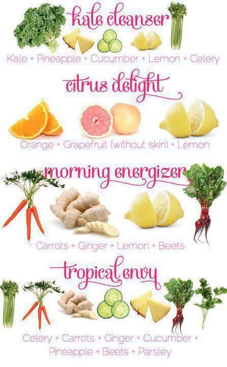 Who needs a juice detox? Make your own...get yourself a juicer (or a blender)