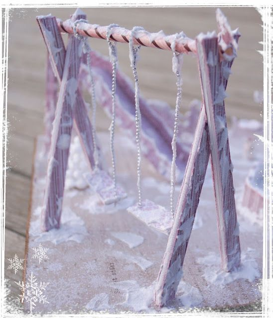 Mitt Lille Papirverksted: The Frozen Playground