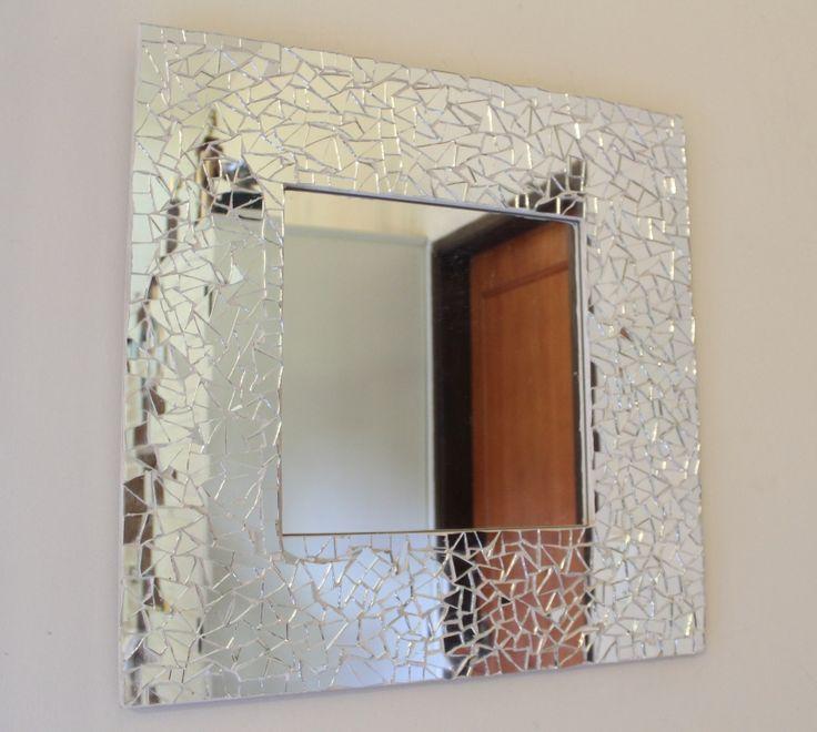 Espejo con marco de espejos bizantino mosaicos for Marcos de espejos