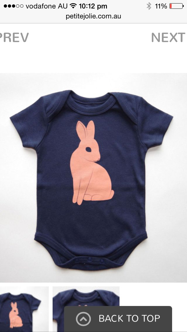 Made in USA. This organic cotton onesie is available now