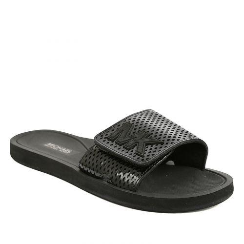 Consultez les détails du produit 40S7MKFA1A01 : chaussures pour femmes Michael kors - MK Slide - Noir. Rubino, le chef de file de l'industrie des chaussures de marques au Canada.