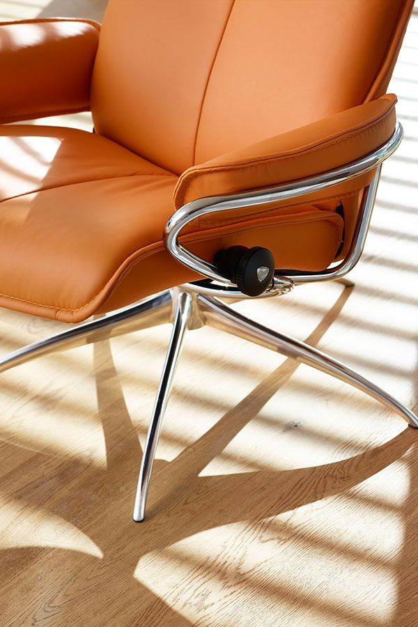 Design stoler | Stressless City lenestol lav rygg (std) | Hvilestoler