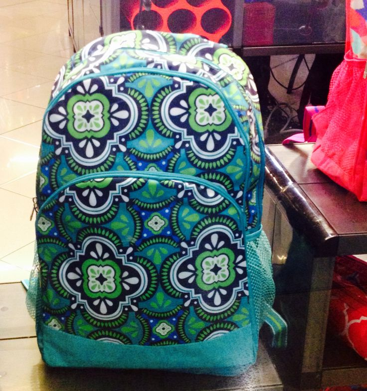 Morral con estampado lleno de similitudes