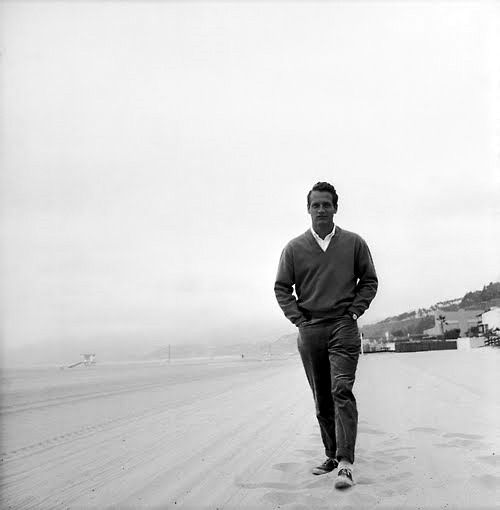 Beach Walking NewmanPaul Newman, Favorite Things, Men Style, Newman Style, Style Icons, Doces Paul, Awesome People, Classic Men, Beach Walks