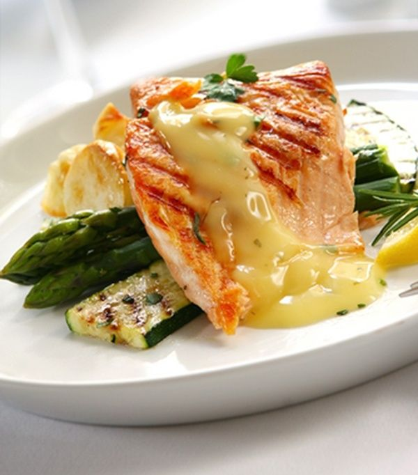 #Grilled #Salmon With Lemon Herb Butter #Sauce- Delicious main dish  #guilt_free_indulgence