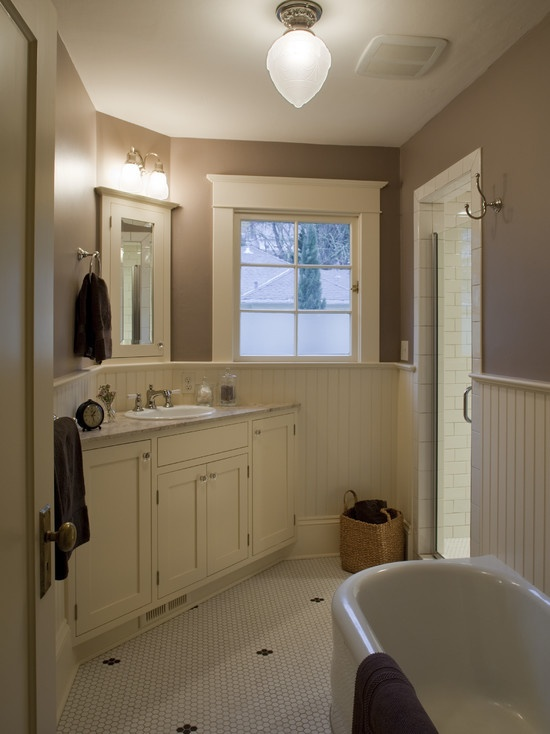 Traditional Bathroom Design, Pictures, Remodel, Decor and Ideas - page 437: Bathroom Design, Decor Ideas, Modern Bathroom, Subway Tile, Craftsman Bathroom, Bathroom Remodel, Bathroom Craftsman, Bathroom Ideas, Craftsman Design