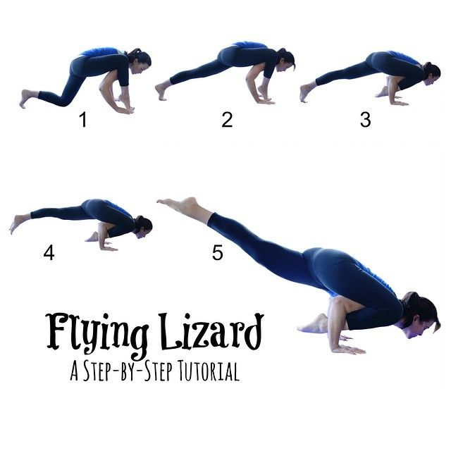 Flying Lizard---I just love this because it doesn't really matter if your lizard ever takes flight. Every step is beneficial. Even if you get into step 1 and just stay there, it is a great stretch for the hips. Please give it a try, and if you want a full explanation, head over to the @twofitmoms website for a written tutorial.
