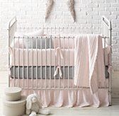 Frayed Voile & European Dotted Percale Nursery Bedding Collection $160