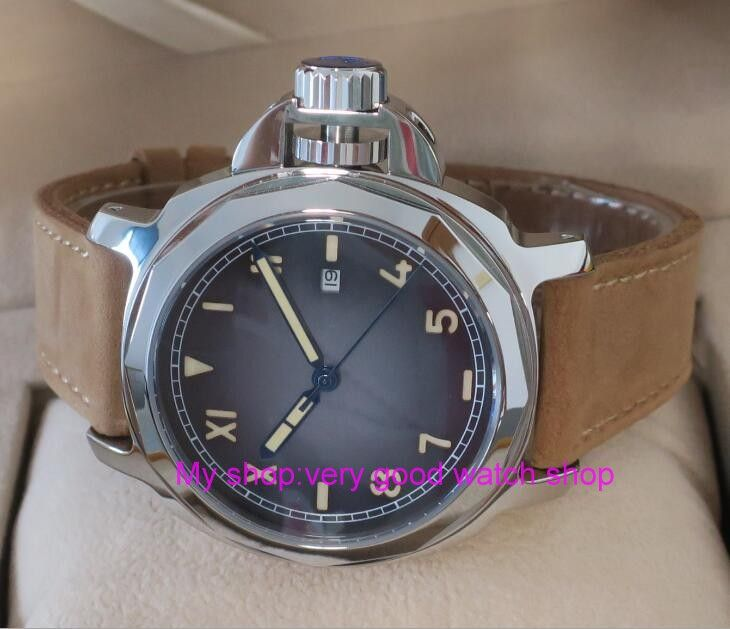 44mm Parnis Sapphire Crystal Japanese 21 jewels Automatic Self-Wind Movement Mechanical watches 10Bar Luminous Men's watches j8   Tag a friend who would love this!   FREE Shipping Worldwide   Buy one here---> https://shoppingafter.com/products/44mm-parnis-sapphire-crystal-japanese-21-jewels-automatic-self-wind-movement-mechanical-watches-10bar-luminous-mens-watches-j8-2/