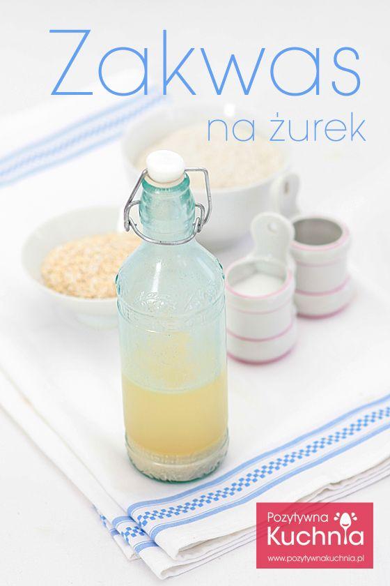 #przepis na zakwas żytni na żurek - zobacz jak zrobić zakwas na żurek krok po kroku http://pozytywnakuchnia.pl/zakwas-na-zurek/ #kuchnia