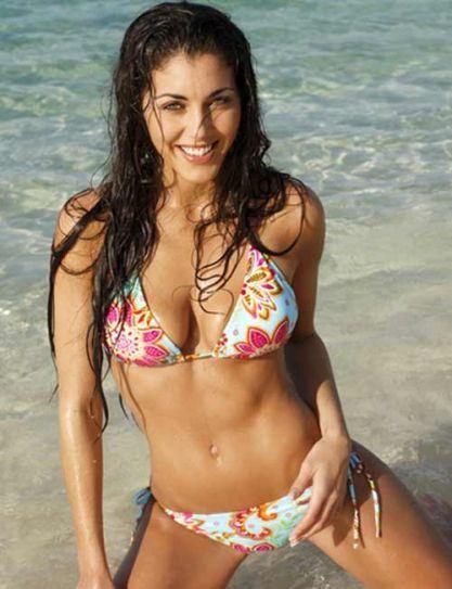 Theme argentina bikini chick casually, not