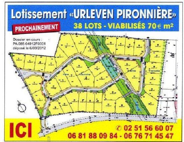 TERRAINS VIABILISES LIBRES DE CONSTRUCTEUR - L IMMOBILIER - Ventes immobilières (Vendée, CHAMPAGNE-LES-MARAIS) :: Annonces immobilières gratuites - Vente et location de logements - Poupion.fr
