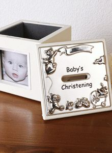 Babys Christening Photo Money Box 220x300 The best christening gift ideas
