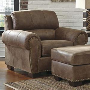 Burnsville Chair in Espresso | Nebraska Furniture Mart