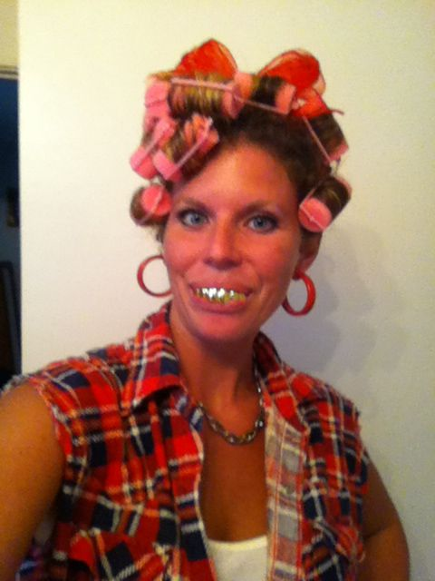 Hillbilly hoedown party!! Rocked it!! ;)